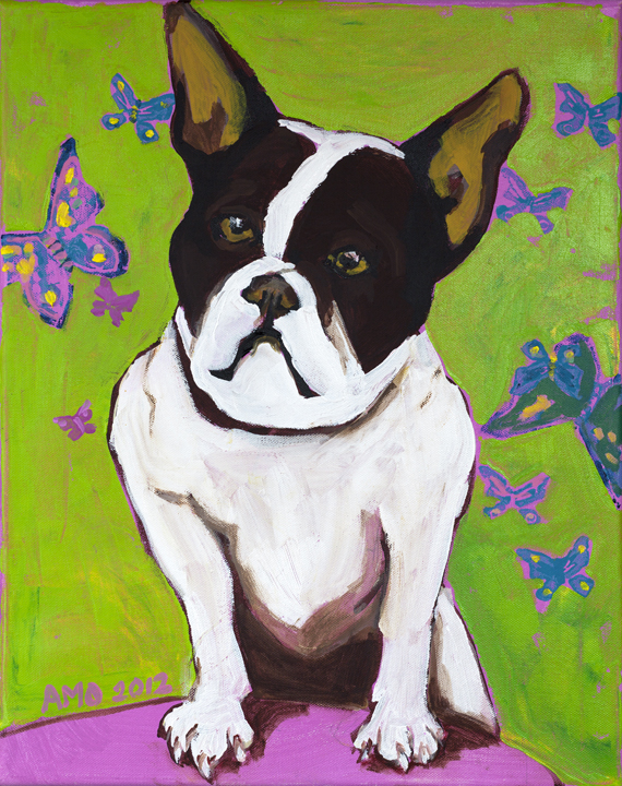 Butterfly frenchie