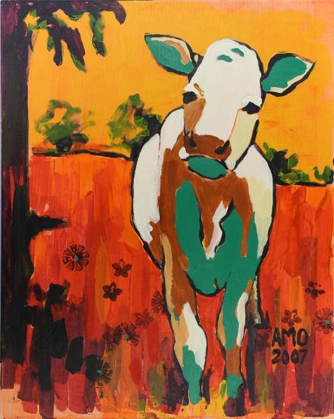 Stone cow