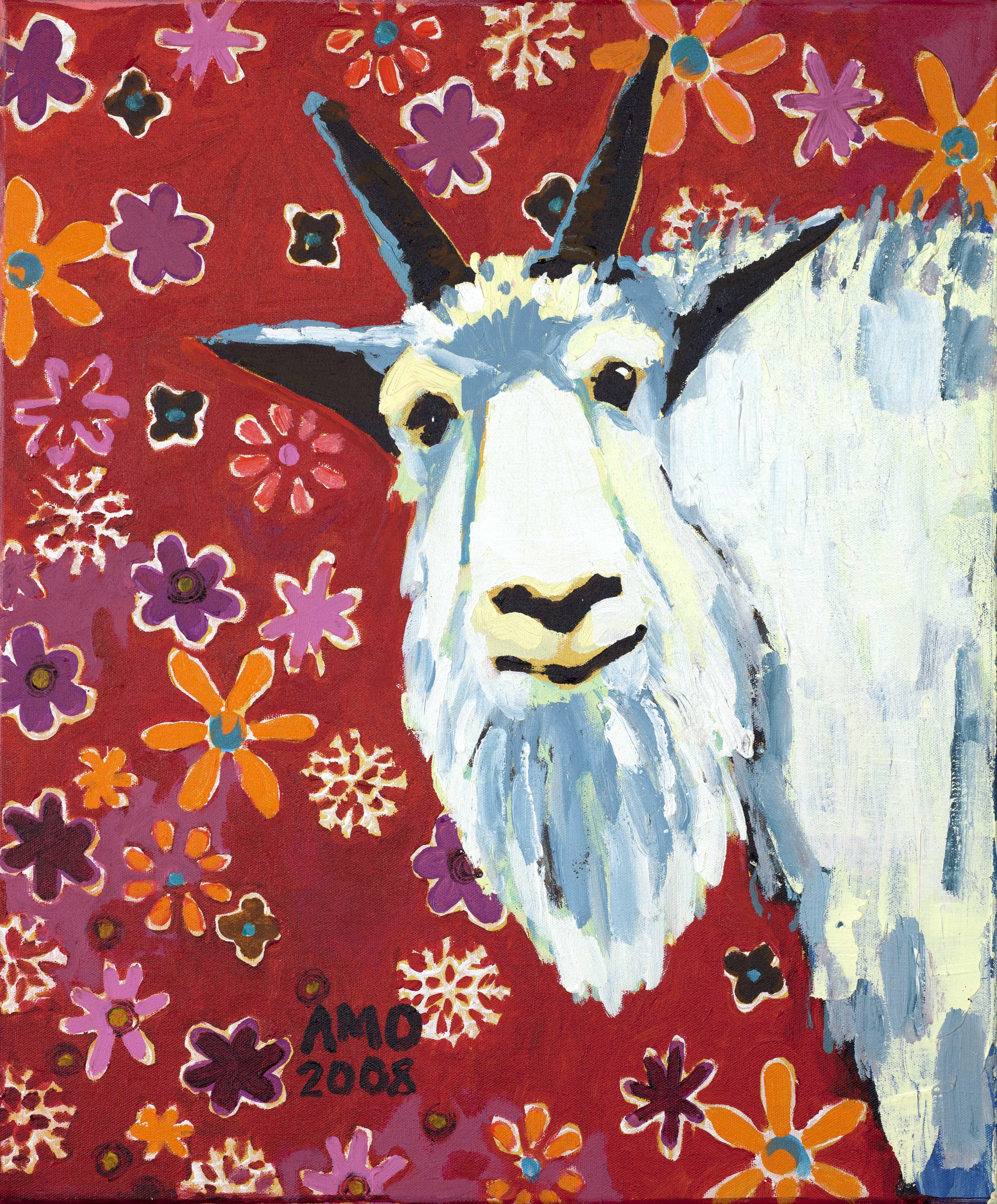 Liberty goat